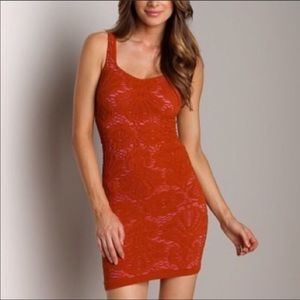Free People Intimately Bodycon Lace dress